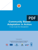 Community Based Adaptation in Action - A Case From Bangladesh