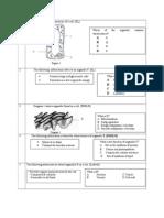 Koleksi Soalan Chapter 2, Biology Form 4.