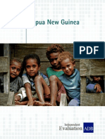 Country Assistance Program Evaluation for Papua New Guinea