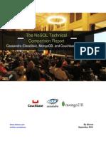 NoSQL Tech Comparison Report