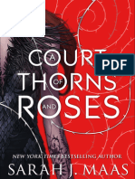 Primer Capítulo de A Court of Thorns and Roses de Sarah J. Maas traducido al Español