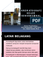 Kromatografi Kolom Konvensional
