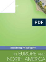 Teaching Philosophy Europe