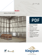 Kingspan Insulation Warehouse Walls