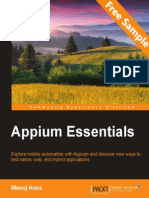 Appium Essentials - Sample Chapter
