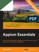 Appium Essentials - Sample Chapter