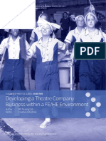 Developing a Theatre Company Business Within a FE-HE Environment