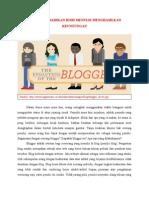 Artikel Blogger