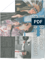 And the Beat Goes on - Alloa Advertiser - 8th April