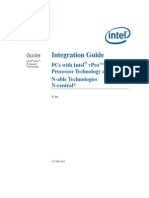 Intel Integration Guide