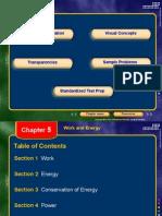 Academic Physics Chapter 5 Work Energy