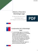 Clase 1 - Historia de La Odontologia Legal 1