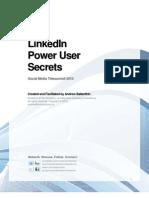 LinkedIn Power User Secrets