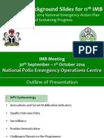PEI Update in Nig to IMB - Oct 14