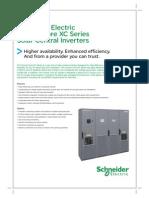 Schneider Solar Inverter XC Series April 2012_V2