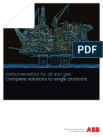 Instrumentation for Oil and Gas - Printversion