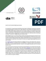 07.04.2015_FIDH ECDHR Joint Letter on Bahrain