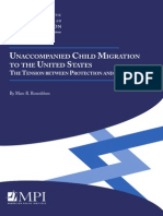 Unaccompanied Child Migration to the United States