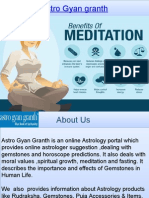 Meditation by Astro Gyangranth