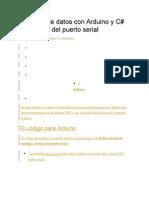 Registro de Datos Con Arduino y Csharp