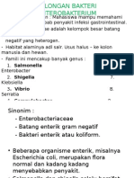 GOLONGAN BAKTERI  ENTEROBAKTERIUM NEW.ppt