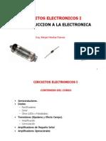 Introducción a los circuitos electrónicos