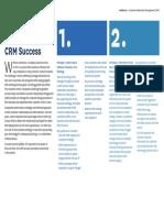 5 Prinicples for CRM Success