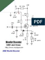 MosFET Booster Explicacion