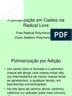 Polimerização Radicalar 2014-2
