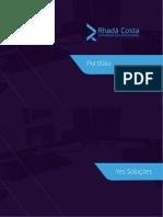 Portfolio | Rhadá Costa - Tecnologia da Comunicação