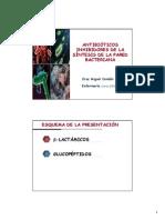 Enfermeria_BetalactamicosyGlucopeptidos_CMCendan - Farmacologia III