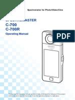 C-700 Operating Manual (English)