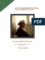 P Leonardo Castellani - Sentencias y Aforismos Politicos