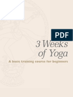 Yoga Sample Lesson 1