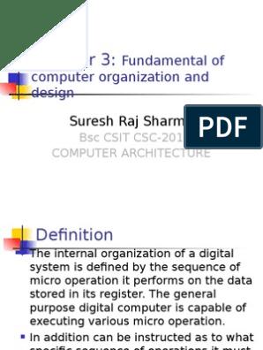 Basic Computer Organization ppt   Instruction Set   Computer