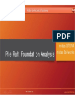 7_Pile Raft Foundation Analysis With Superstructure and Substructure