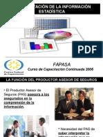 Interpretacion Informacion Estadistica