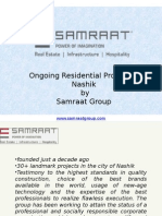 Ongoing Residential Projects in Nashik by Samraat Group