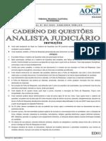 Prova AOCP TRE AN JUD Med 1