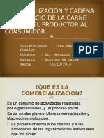 Comercialización y Cadena de Comercio de La Carne