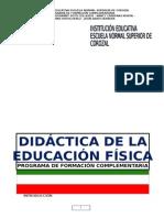 MODULO DIDACTICA DE LA EDUCACIÓN FÍSICA 2014  2.docx