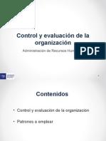 Presentacion Control y Evaluacion de La Organizacion