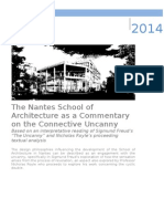 The Nantes School of Architecture as a Commentary on the Connective Uncanny