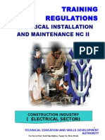 TR-Elec Inst and Maint NC II (Retitled-Amended)