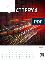 Battery 4 Manual English