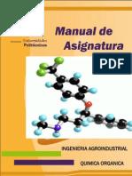 Manual de asignatura Química Orgánica
