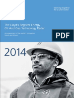 The Lloyd s Register Energy Oil and Gas Technology Radar