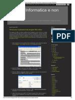 Agenda Informatica e Non...Dai Progetti VBA Office