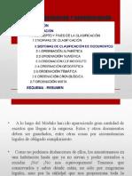 EL ARCHIVO Sistemas de Clasificación y Documentación