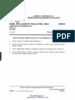 [spmsoalan]Soalan SPM 2014 Matematik Tambahan Kertas 2